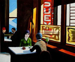 Chop Suey II by Edward Hopper.