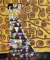 Expectation III by Gustav Klimt