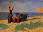 The Fourteenth of July at Etretat - Felix Vallotton Oil Painting