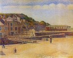 - Port-en-Bessin - by Georges Seurat