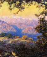 November Morning - Theodore Clement Steele Oil Painting