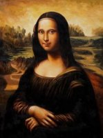 Mona Lisa II - Oil Painting Reproduction On Canvas