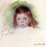 Portrait of Ellen Mary Cassatt - Mary Cassatt Oil Painting
