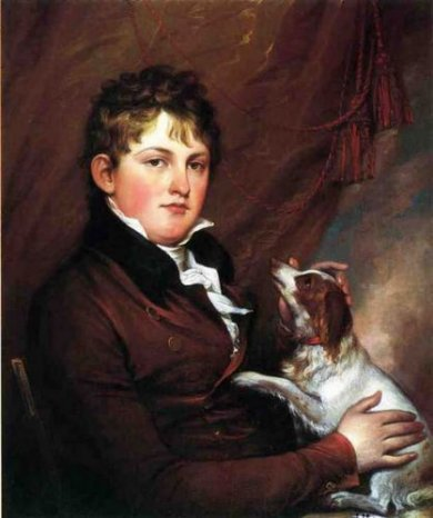 Portrait of John M. Trumbull, the Artist's Nephew - Oil Painting Reproduction On Canvas