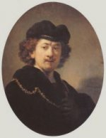 Self Portrait 13 - Rembrandt van Rijn Oil Painting