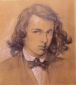 Self-portrait III - Dante Gabriel Rossetti Oil Painting