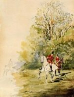 Hunting - Henri De Toulouse-Lautrec Oil Painting
