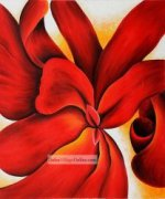 Red Cannas by Georgia O'Keeffe