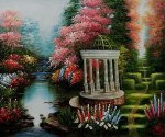 The Garden of Prayer - Oil Painting Reproduction On Canvas