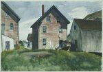 Gloucester Mansion - Edward Hopper Oil Painting