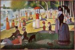 A Sunday Afternoon on the Island of La Grande Jatte - Oil Painting Reproduction On Canvas