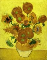 Still Life with Sunflowers VII - Vincent Van Gogh Oil Painting