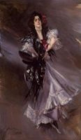 Portrait of Anita de la Ferie, 'The Spanish Dancer' - Oil Painting Reproduction On Canvas