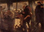 The Prodigal Son in Modern Life: the Return - James Tissot oil painting