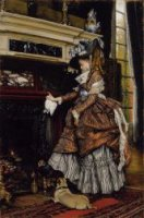 The Fireplace - Oil Painting Reproduction On Canvas