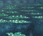 Water Lilies VI - Claude Monet Oil Painting