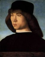 Portrait of a Young Man II - Giovanni Bellini Oil Painting