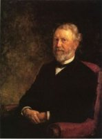 Albert G. Porter, Governor of Indiana - Theodore Clement Steele Oil Painting