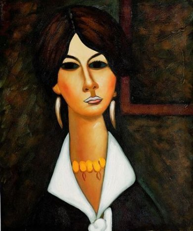 Woman of Algiers, 1917 - Oil Painting Reproduction On Canvas