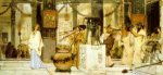 The Vintage Festival - Sir Lawrence Alma-Tadema oil painting