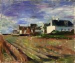 Farms in Brittany, Belle-Ile - Henri Matisse Oil Painting