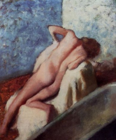 After the Bath 7 - Edgar Degas Oil Painting