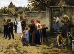 The Wedding Procession - by Guillaume Seignac