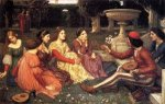 A Tale from the Decameron - Oil Painting Reproduction On Canvas