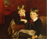 The Sons of Mrs. Malcolm Forbes - John Singer Sargent Oil Painting