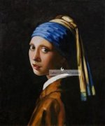Girl with Pearl Earring by Johannes Vermee