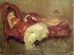 Note in Red: The Siesta - Oil Painting Reproduction On Canvas