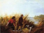 Duck Shooting: A Good Shot - Arthur Fitzwilliam Tait Oil Painting
