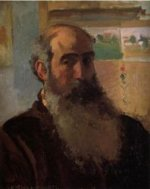Self Portrait II - Camille Pissarro Oil Painting