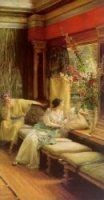 Vain Courtship - Oil Painting Reproduction On Canvas