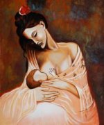 Maternity (Artist Interpretation) -Pablo Picasso Oil Painting