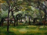 Farm in Normandy, Summer - Paul Cezanne Oil Painting