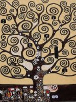 Tree of Life II - Oil Painting Reproduction On Canvas