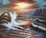 Quiet Storm - Oil Painting Reproduction On Canvas