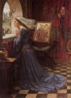 Fair Rosamund - Oil Painting Reproduction On Canvas