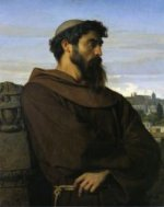 The Roman Monk - On Canvas Alexandre Cabanel Oil Painting