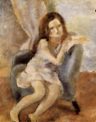Seated Woman III - Oil Painting Reproduction On Canvas