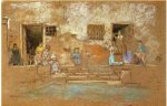 The Steps - James Abbott McNeill Whistler Oil Painting