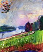 Copse of the Banks of the Garonne - Henri Matisse Oil Painting