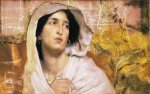 Portrait of a Woman - Oil Painting Reproduction On Canvas