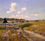 Afternoon Shadows - William Merritt Chase Oil Painting