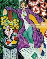 the purple coat by Henri Matisse