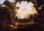 The Gardenn of Eden - Thomas Cole Oil Painting