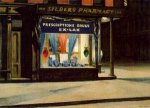Drug Store - Oil Painting Reproduction On Canvas