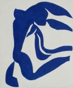 The Flowing Hair - Henri Matisse Oil Painting