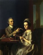 Mr. and Mrs Thomas Mifflin (Sarah Morris) - John Singleton Copley Oil Painting